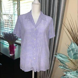 Josephine Chaus 100% silk blouse